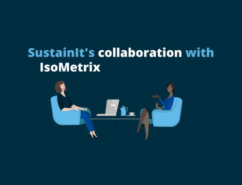 SustainIt's most recent collaboration with IsoMetrix, leading developer of software solutions